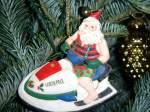 jet ski Santa