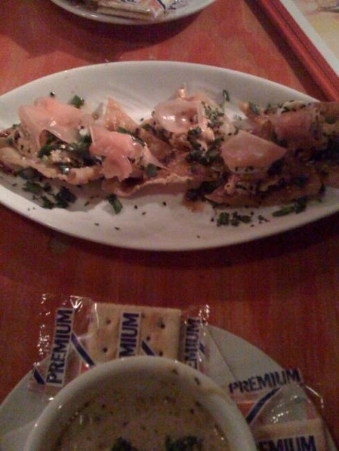Seared Spicy Tuna appetizer