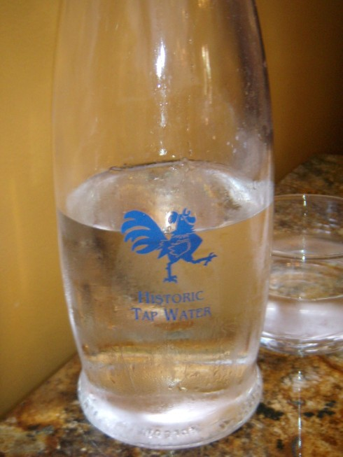 historic tap water