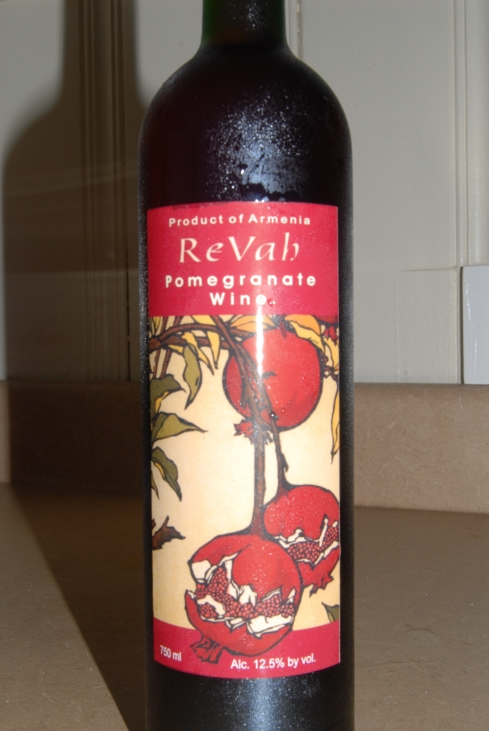 Revah pomegranate wine