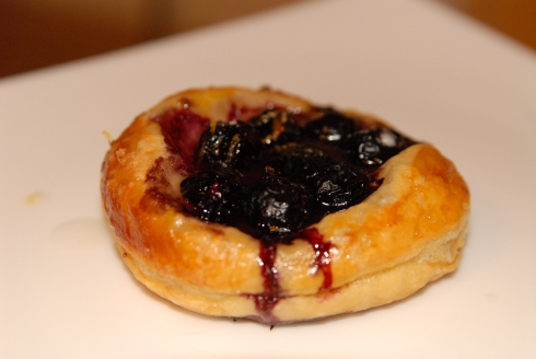 Mobilian Blueberry Tartlet