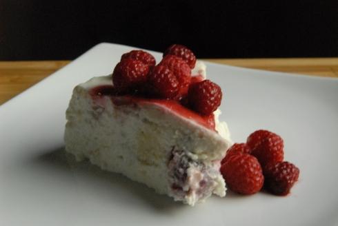 raspberry blanc-manger