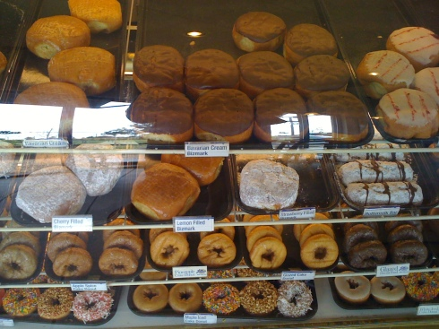 these doughnuts are huge!