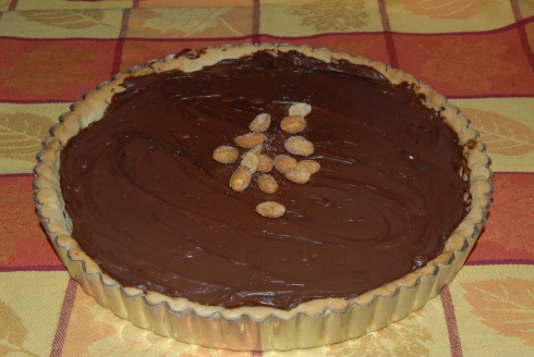 chocolate-crunched caramel tart 002