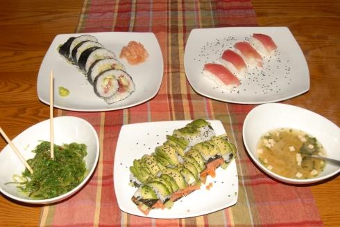 Daring Cooks sushi challenge